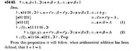 screenshot pembuktian 1+1=2 di buku Pricipia matematicia