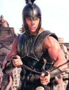 Brad Pitt sebagai Achilles di Film Troy (2004)