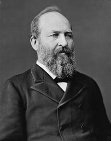James  Garfield, Presiden AS ke-20 yang membuktikan Teorema Phytagoras. Sumber: Wikipedia