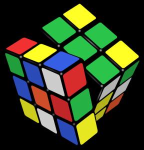 Kubus Rubik, sumber: Wikipedia